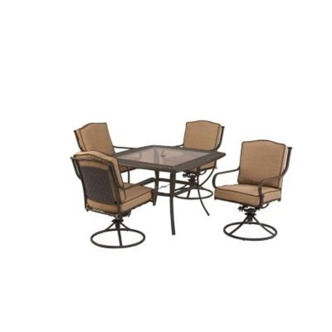 Martha Stewart Living Mallorca Swivel Patio Dining Chairs Outdoor Furniture Mallorca