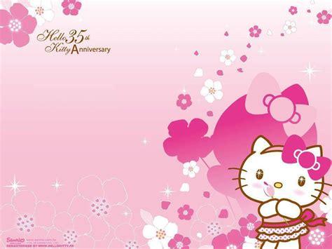 hello kitty music wallpaper hello kitty birthday wallpapers wallpaper cave