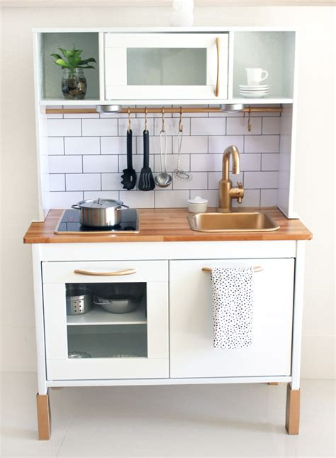 ikea hacks kitchen cutest ikea hack duktig play kitchen barnrum ikeak 246 k
