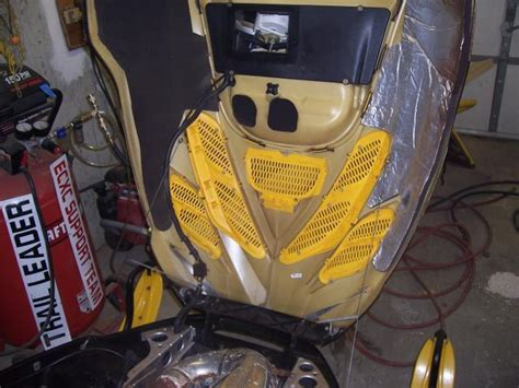 Hood Cable Mounting 1997 Mxz 670 Snowmobile Forum Your