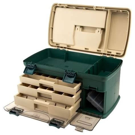Drawer Tackle Box by Plano 174 737 Three Drawer Rack Tackle Box System With Bonus
