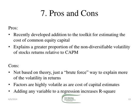 Section 8 Pros And Cons by Ppt Fama 3 Factor Model Theoretical And