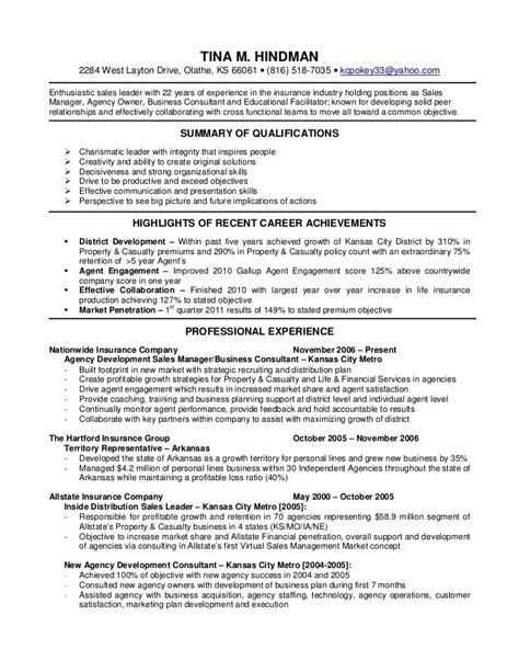 insurance resume best resume collection