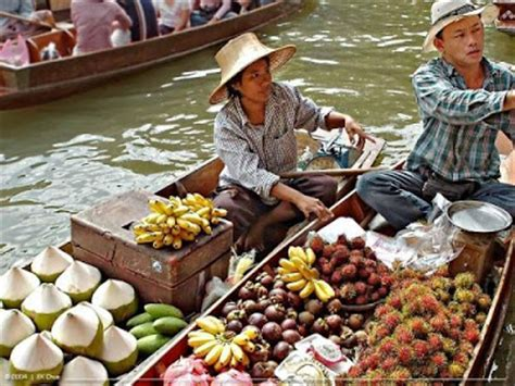 boat market prices place floating market at thailand