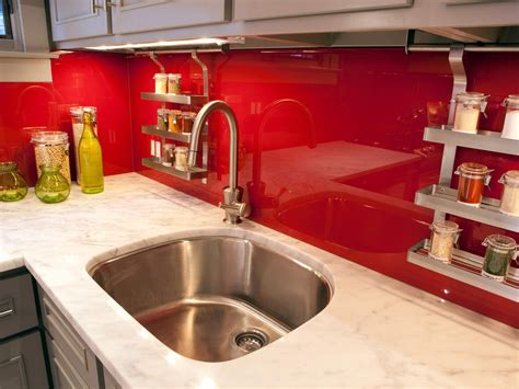 red kitchen backsplash marble kitchen countertop options hgtv