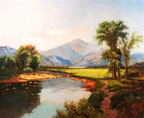 cuadros al oleo de paisajes im 225 genes arte pinturas cuadros de paisajes al 243 leo