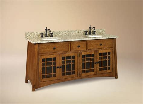 craftsman style bathroom fixtures mission style vanity arts crafts mission style pinterest