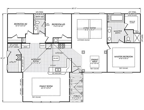 fleetwood floor plans barrington premiere 40603b fleetwood homes manufactured