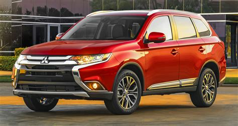 2016 Mitsubishi Outlander officially shows its face