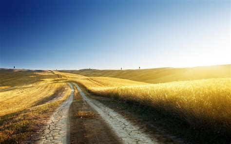 Country Search Golden Country Road Wallpaper Iphone Wallpaper Wallpaperlepi