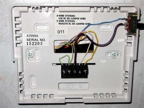 thermostat in dometic thermostat wiring diagram