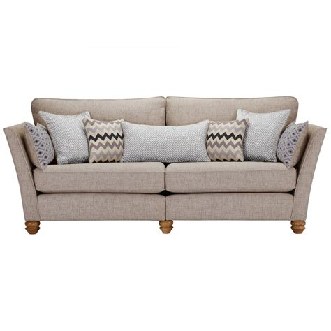 silver couch gainsborough 4 seater sofa in silver matching scatters