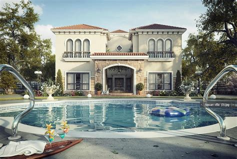 a dream house dreamy spaces rendered by muhammad taher