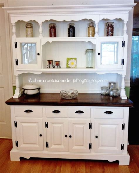 kitchen buffet and hutch furniture kitchen china hutch makeover project shera smit a frog