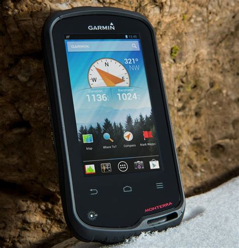 garmin android garmin monterra a 4 inch handheld android gps android central