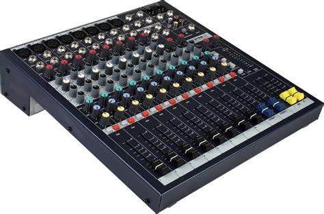 Audio Mixer Soundcraft Efx12 soundcraft epm8 mixer sweetwater