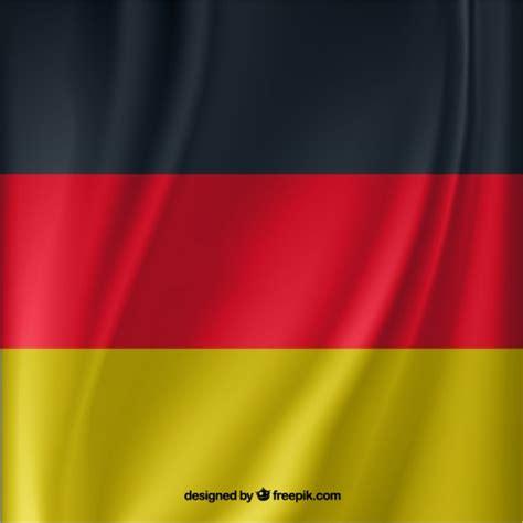 free german waving german flag vector free