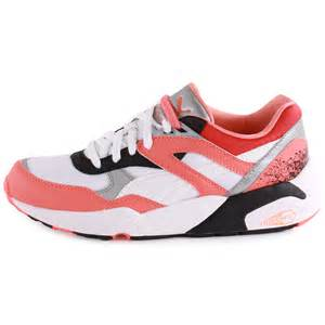 Pumas Shoes Trinomic R698 Sport Womens Synthetic Multicolour