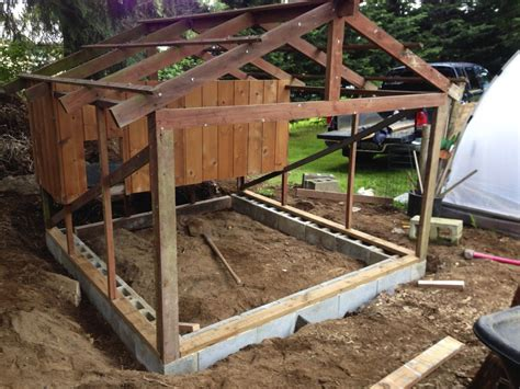Backyard Shed Foundation by Repurposed Garden Shed To Quaint Coop Backyard Chickens