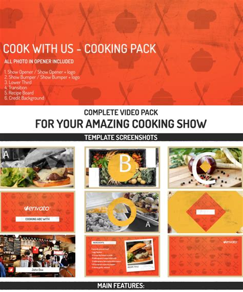 You Showed Us Your Cookbooks by Cooking Pack Cook With Us By Jbmotion Videohive