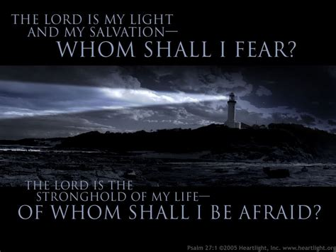 Light Verse by 607 Psalms 27 And 28 Dwelling In The Word