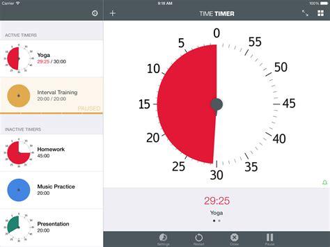 light app with timer timer app timetimer