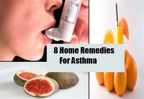 top 8 home remedies for asthma cure herbal