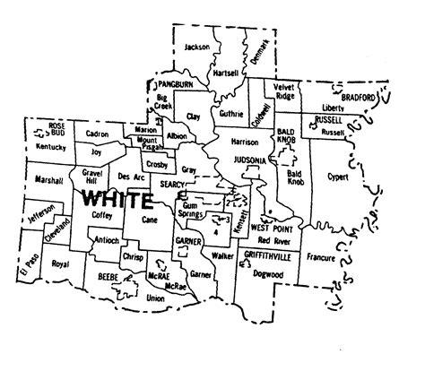 White County Records White County Arkansas Map Arkansas Map