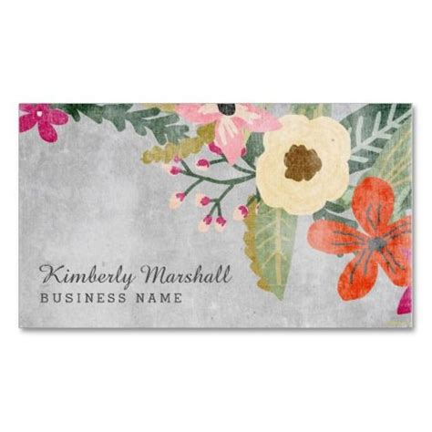 71 Best Business Cards Florist Images On Pinterest Business Cards Carte De Visite And Flower Business Card Template