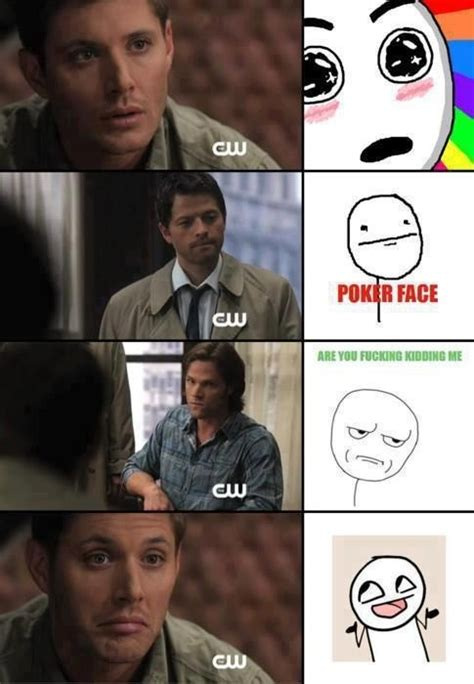 Funny Supernatural Memes - supernatural as memes supernatural pinterest