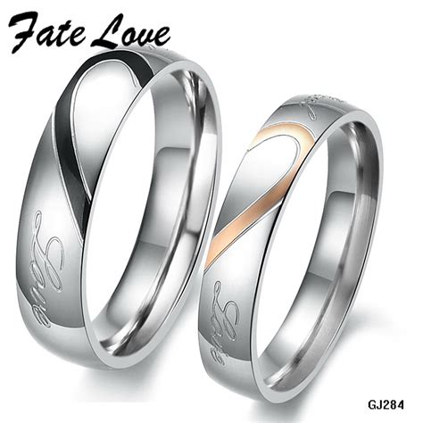 aliexpress buy his and hers promise ring sets
