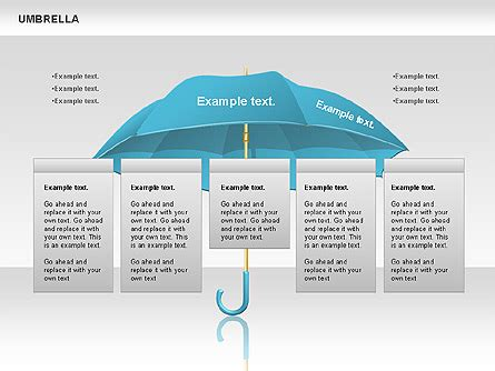 umbrella pattern antenna ppt umbrella diagram for powerpoint presentations download