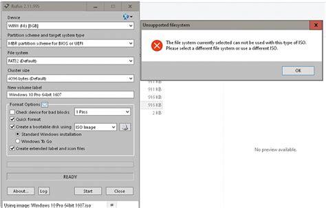 rufus tutorial win 10 create bootable usb flash drive to install windows 10