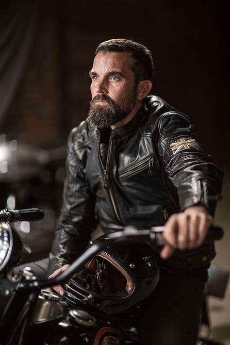 Motorradhose Retro by Difi Bonneville Special Edition Leder Motorradjacke Im