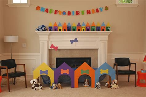 puppy decorations chengblog 187 birthday decorations