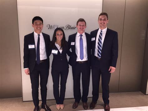 William Blair Company Mba Internship by Fmi Scholars Win William Blair Midwest Investment Banking