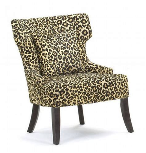 Print Parsons Chair The Attractive Leopard Print Parsons Chair Home