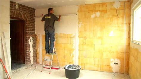plafonner  mur youtube