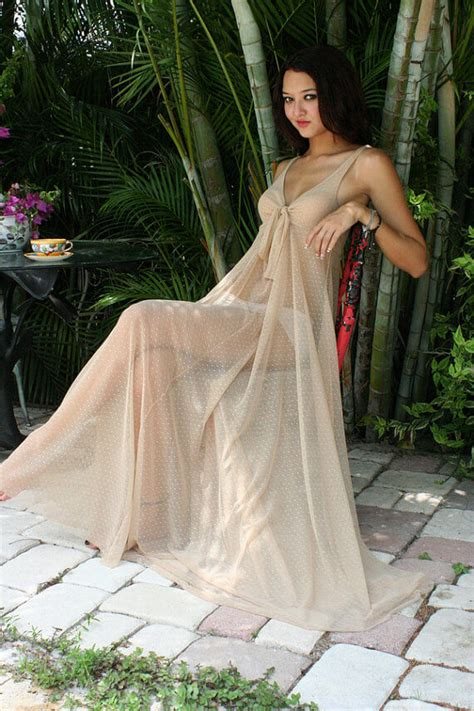 images of women in sheer nightgowns my 5 favorite sheer long gowns the lingerie addict