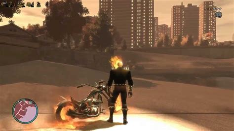 mod gta 5 ghost rider gtaiv ghost rider mod youtube