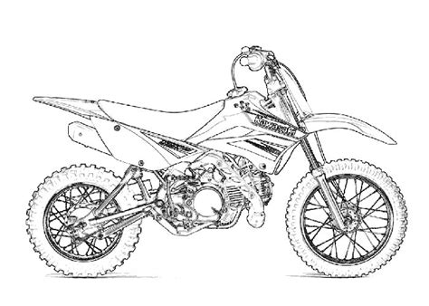kawasaki ninja coloring pages free coloring pages of ninja motorcycle