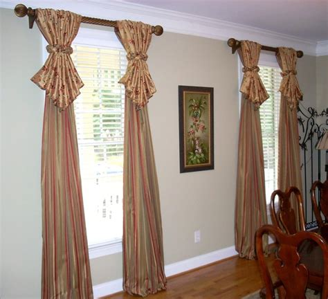 window treatments for dining room window treatments traditional dining room atlanta by lady dianne s custom window bed