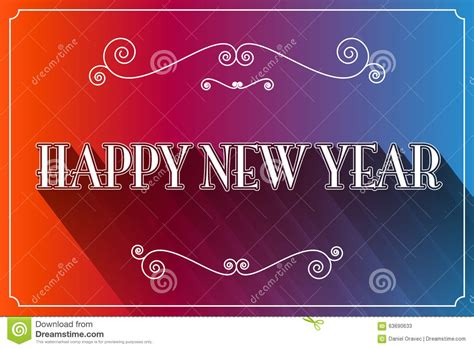 happy new year slogan vector stock vector image 63690633