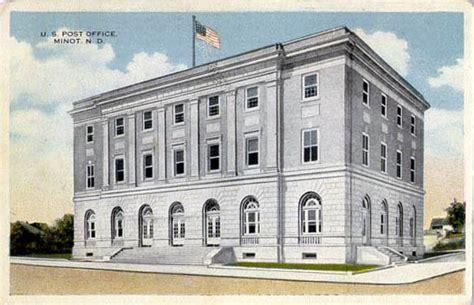 Minot Post Office by Postcards From Ward County Dakota