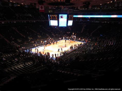 section 207 madison square garden madison square garden section 207 new york knicks