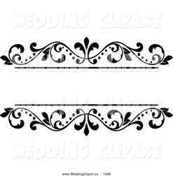 free wedding clipart borders clipartxtras