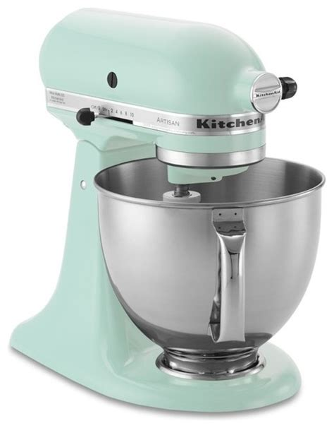 Kitchenaid Food Processor And Blender Kitchenaid Artisan Stand Mixer Blue Contemporary