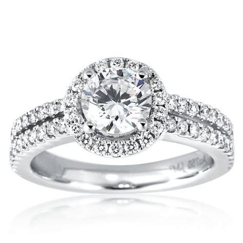 halo ring halo ring with wedding band