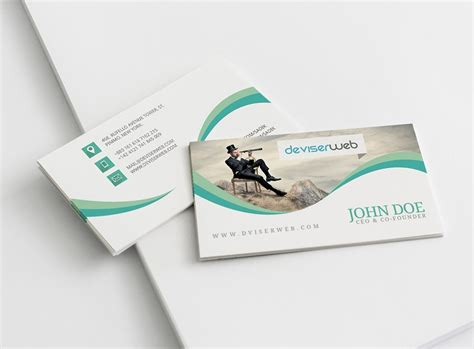 unique business card templates free free creative photography business card psdboom