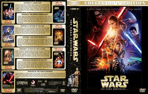 printable star wars dvd covers star wars the saga continues dvd cover 1977 2015 r1